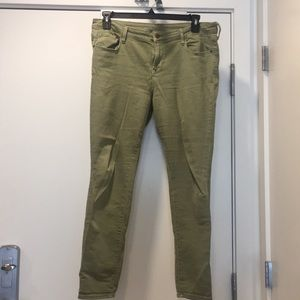 Green old navy jeans